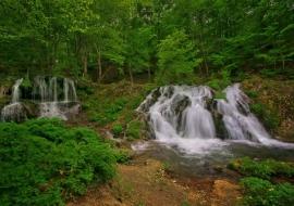 Водопада Докузак , Малко Търново , Богинята Бастет